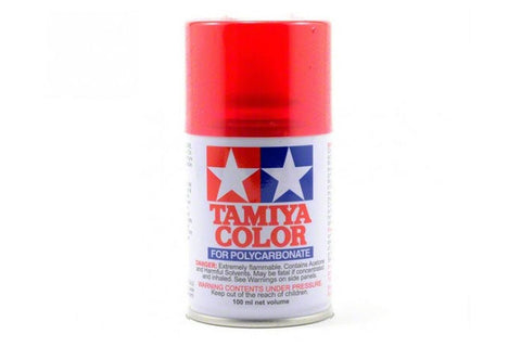 Tamiya Polycarbonate Spray Paint 100ml Translucent Red PS-37