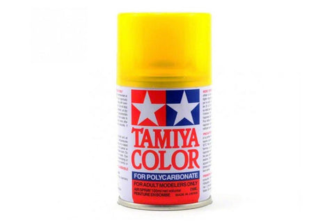 Tamiya Polycarbonate Spray Paint 100ml Translucent Yellow PS-42