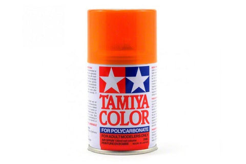 Tamiya Polycarbonate Spray Paint 100ml Translucent Orange PS-43