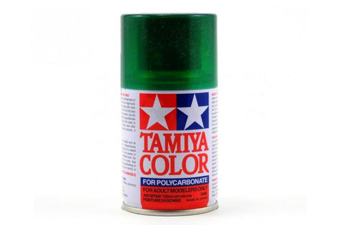 Tamiya Polycarbonate Spray Paint 100ml Translucent Green PS-44