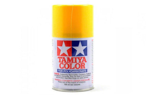 Tamiya Polycarbonate Spray Paint 100ml Yellow PS-6