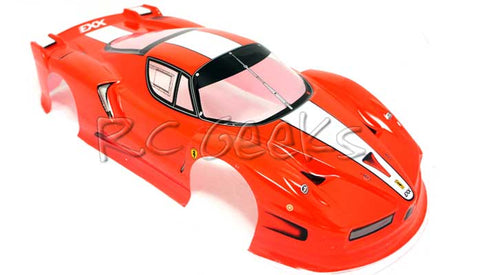 RCG Racing Ferrari Enzo Painted Body Shell Red 190mm