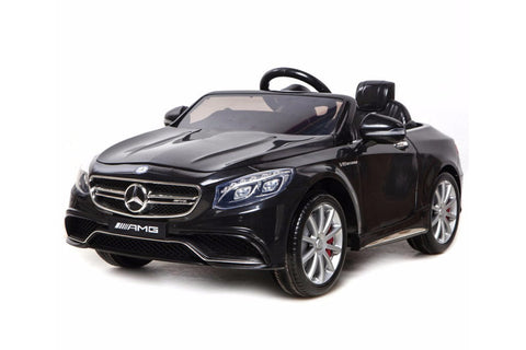 Mercedes S63 Ride On Car - Frosted Black