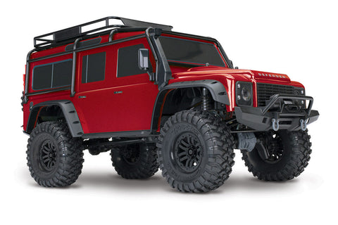 Traxxas TRX-4 Land Rover Defender Red