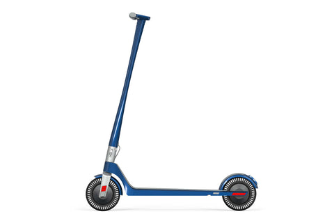 Unagi Model One E500 Electric Scooter Cosmic Blue