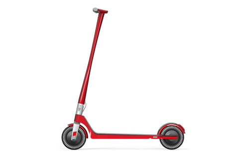 Unagi Model One E500 Electric Scooter Scarlet Fire