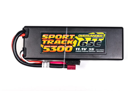 Overlander 5300mAh 3S 65C LiPo Battery in Hard Case