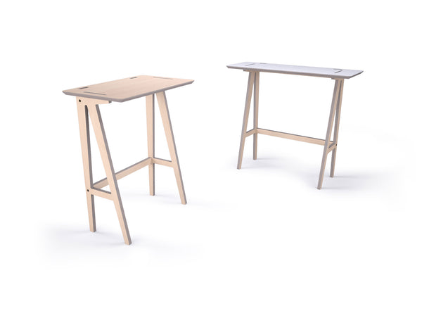 Caramba Standing Desk, Small and Lage Tops