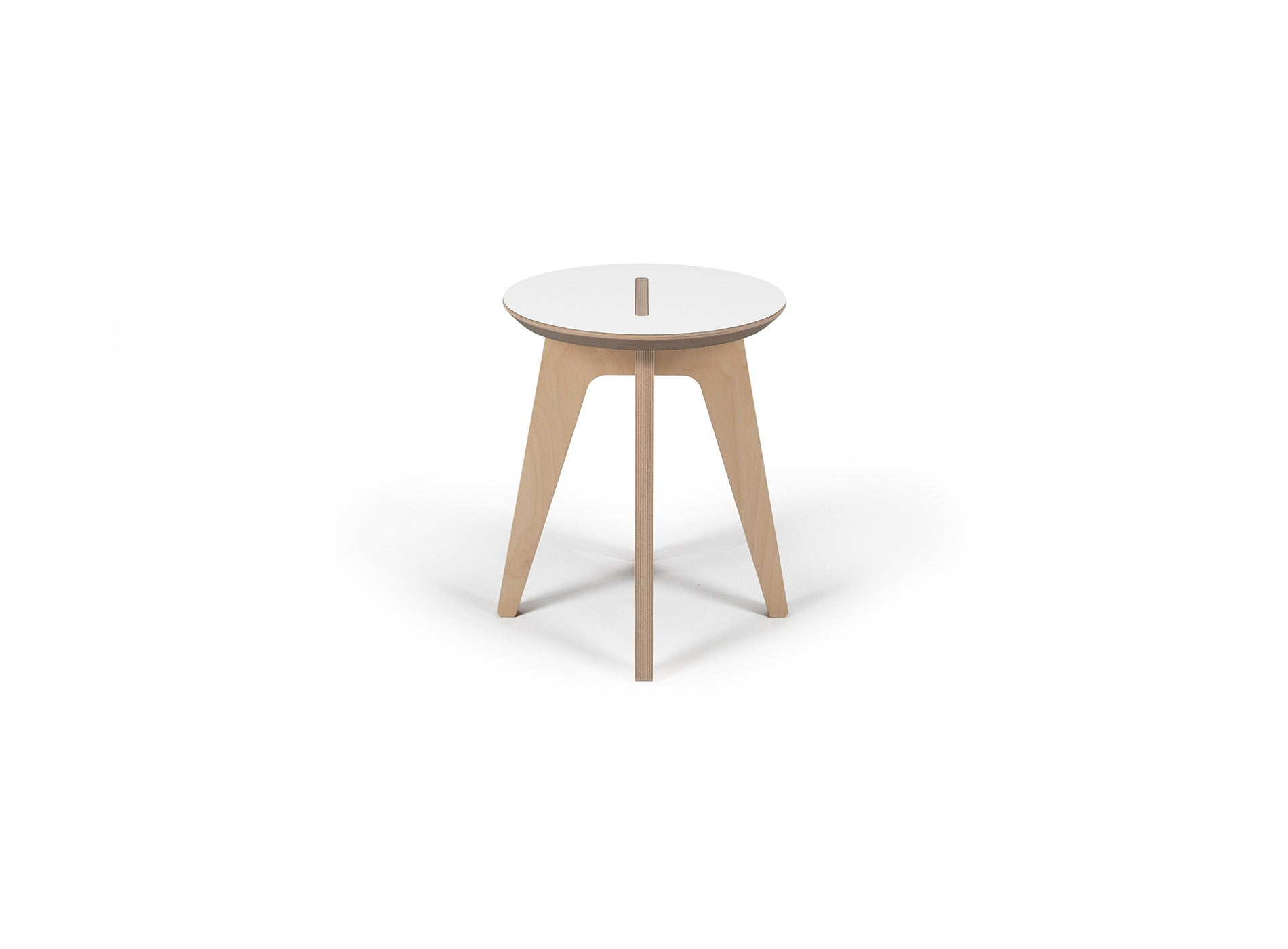 Caramba Humble Stool, White Top