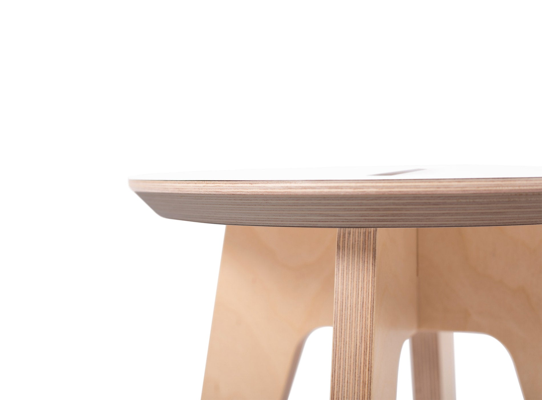 Caramba Humble Stool, Edge Detail