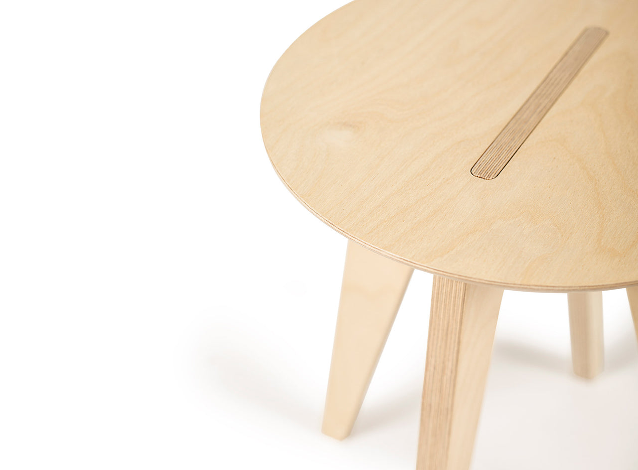 Caramba Humble Stool, Close up