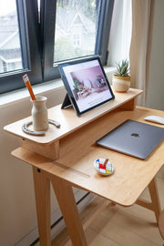 Caramba Goldilocks Desk and Monitor Stand
