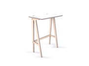 Caramba Standing Desk, Small, White Top
