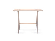 Caramba Standing Desk, Wood Top, Large