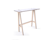 Caramba Standing Desk, White Top, Large