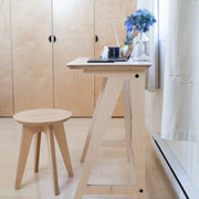 Caramba Goldilocks Desk and Humble Stool