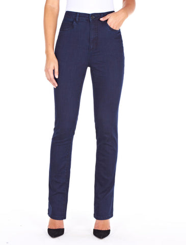 SUPREME DENIM PETITE PEGGY STRAIGHT LEG Regular + Petite