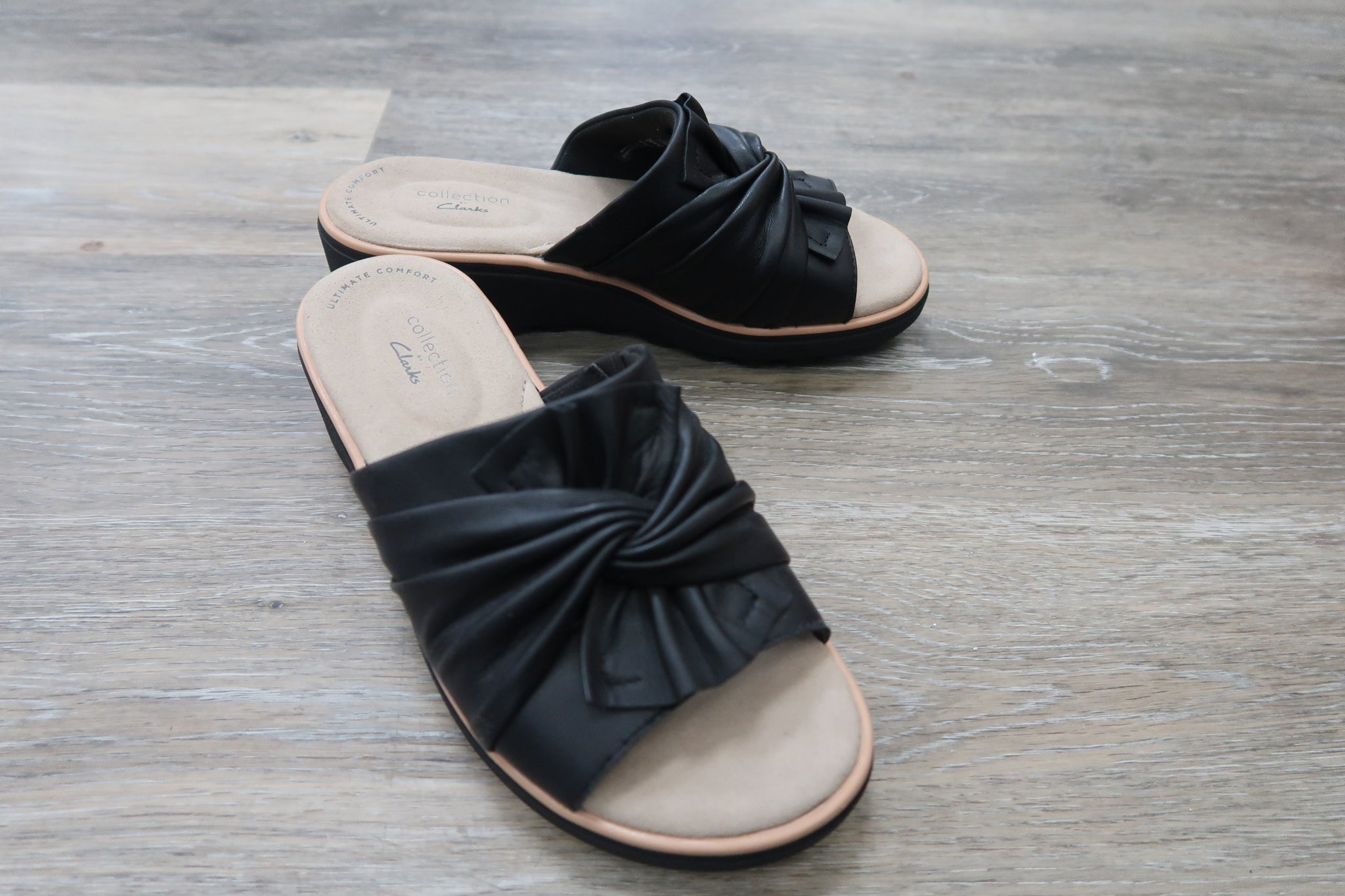Clarks Leather Slip On