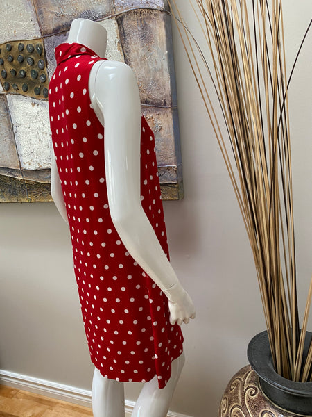 Tribal Red Polka Dot