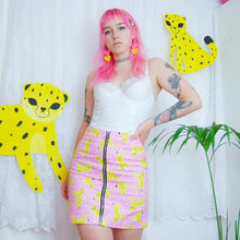 Load image into Gallery viewer, Foundling Studio x Rate Cute Cheetah Skirt