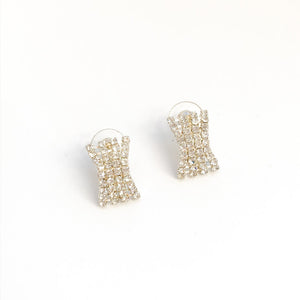 Preloved Diamanté Stud Earrings