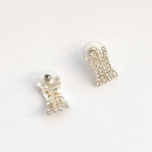 Load image into Gallery viewer, Preloved Diamanté Stud Earrings