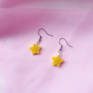 Small Yellow Shimmer Stars
