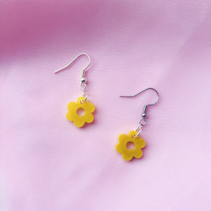 Small Yellow Shimmer Flowers
