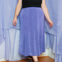 Load image into Gallery viewer, Purple Maxi Skirt