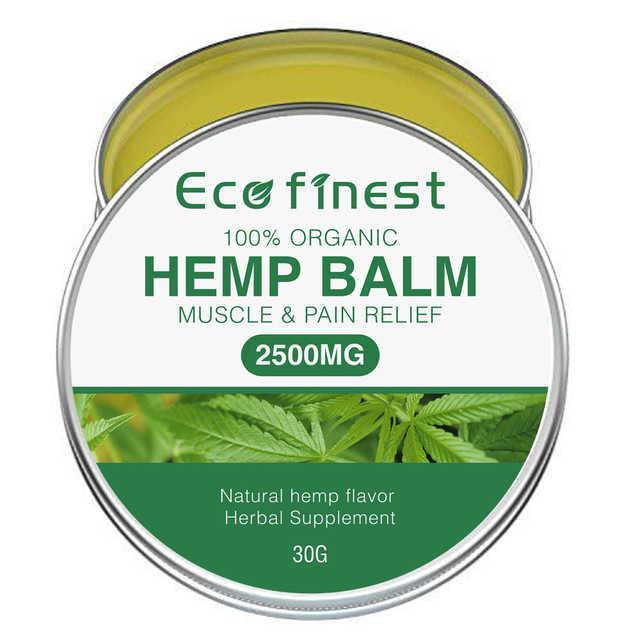 Eco Finest Hemp Balm Muscle & Pain Relief