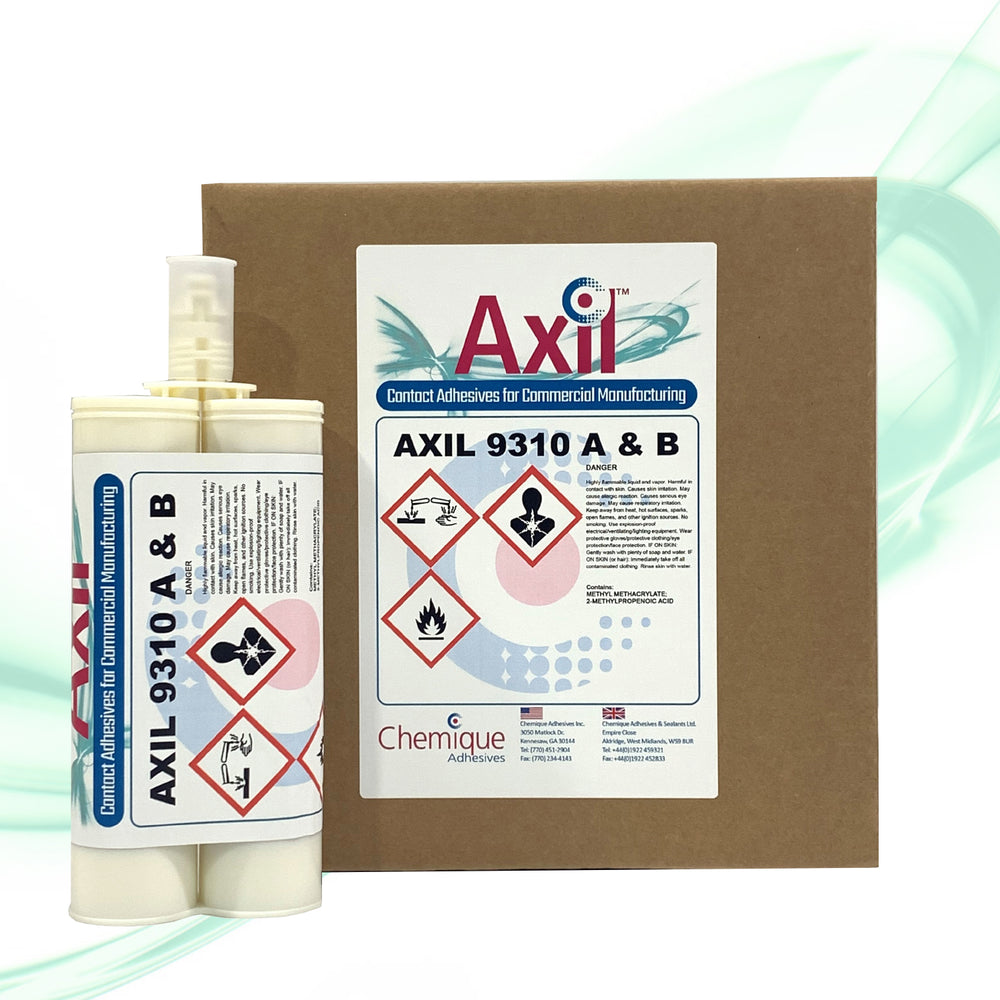 Axil 9310 Two-Component Methacrylate Structural Adhesive