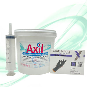 Axil FloorFix Kit - Two Component Epoxy Adhesive | Insulated Panels and Composite Flooring Adhesive