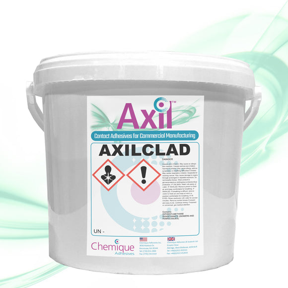 Axilclad uPVC Cladding Adhesive - 1.3 GALLON BUCKET