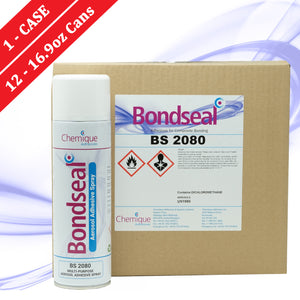 Load image into Gallery viewer, Bondseal 2080 Aerosol Adhesive - 1 CASE