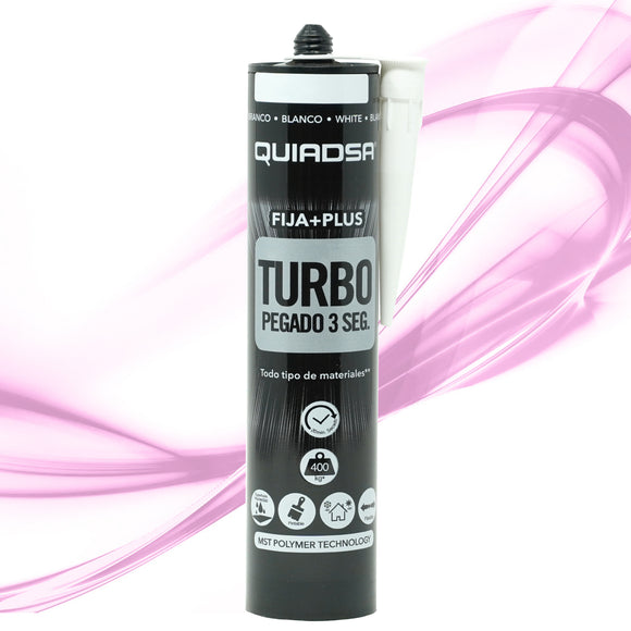 Quiadsa MS Turbo Adhesive and Sealant - White - 1 CARTRIDGE