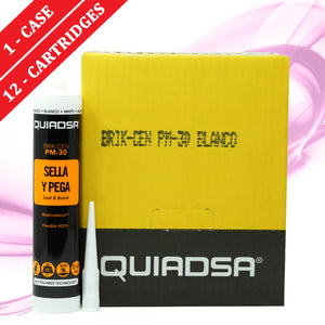 Quiadsa PM-30 Construction Adhesive and Sealant - WHITE