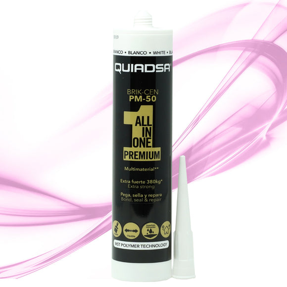 Quiadsa PM-50 All-In-One Premium Construction Adhesive and Sealant - WHITE