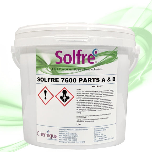 Solfre2 7600 Honeycomb Panel Adhesive - 1 BUCKET