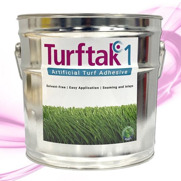 Turftak1 Artificial Turf Adhesive - One Part Turf Adhesive - 1.6 GAL BUCKET