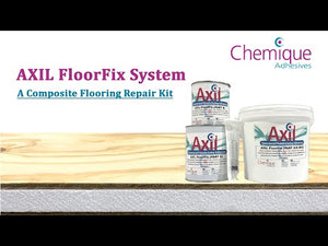Load and play video in Gallery viewer, Axil FloorFix Kit - Two Component Epoxy Adhesive | Insulated Panels and Composite Flooring Adhesive