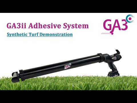 Load and play video in Gallery viewer, GA3 Adhesive System - GA3ii Adhesive Application Unit (Flooring and Turf)