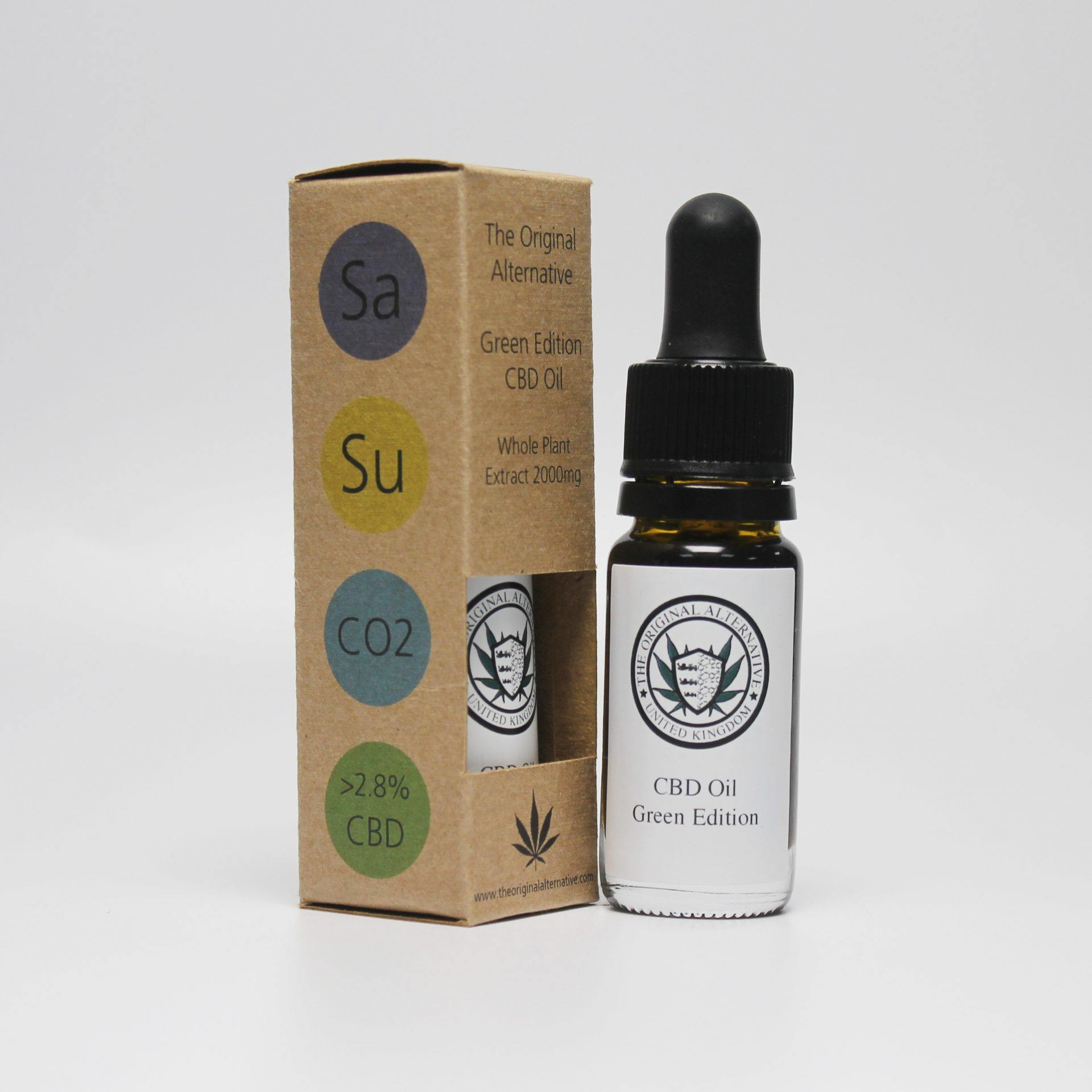 CBD Brothers Green Edition Oil (Sativa) - ActivelyCBD
