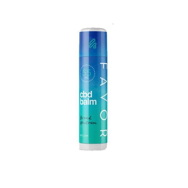 Favor CBD Flavoured Lip Balm 55mg CBD