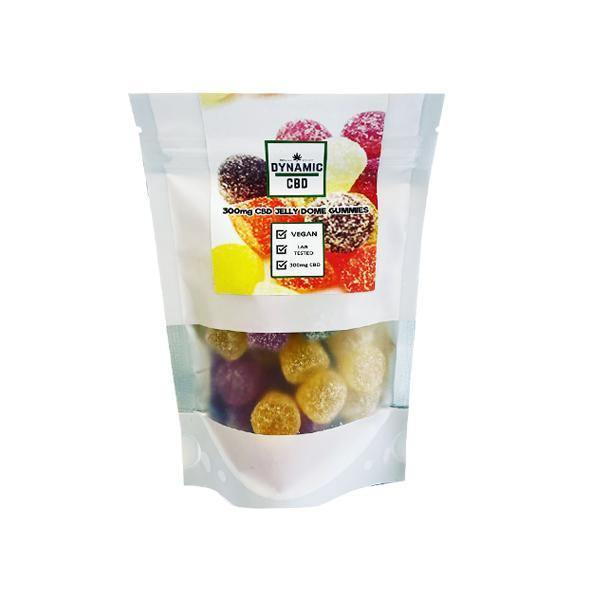 Dynamic CBD Sugar Coated CBD Jelly Dome Gummies 300mg