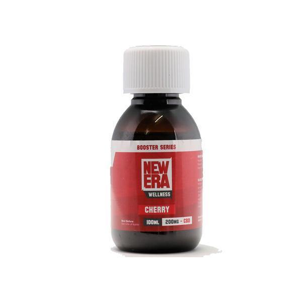 New Era Wellness 200mg CBD Booster 100ml - ActivelyCBD