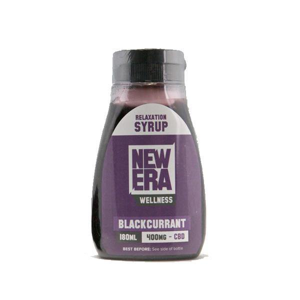 New Era Wellness 400mg CBD Relaxation Syrup 180ml - ActivelyCBD