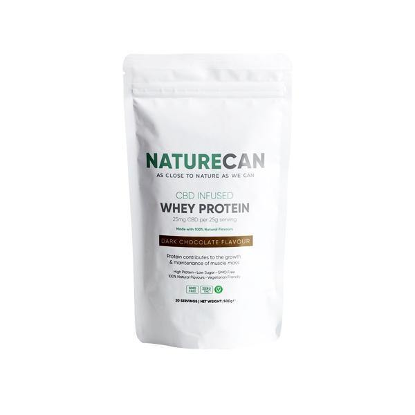 Naturecan 500mg CBD Protein Powder 500g