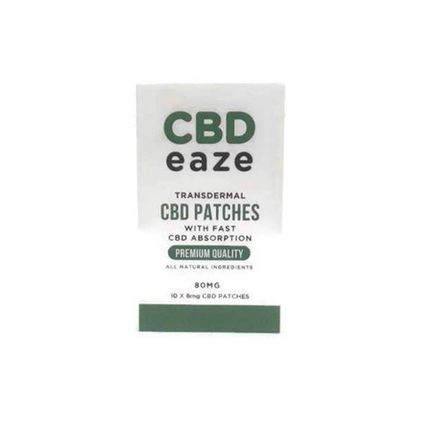 CBD Eaze Trans Dermal 80mg CBD Patches