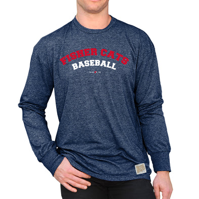 New Hampshire Fisher Cats Cats Baseball Long Sleeve