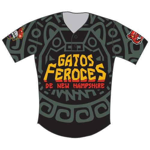 New Hampshire Fisher Cats Gatos Feroces Adult Replica